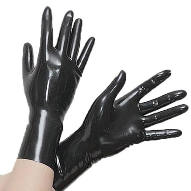 black latex gloves pegging toys